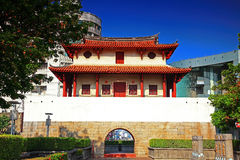 Historic City East Gate, Tainan City,Taiwan.  Royalty Free Stock Photo