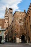 Historic city ensemble of Cremona Royalty Free Stock Photos