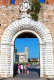 Historic city gate of Pisa Royalty Free Stock Photos