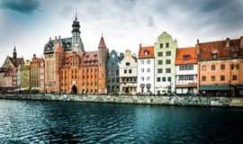 Historic city of Gdansk Stock Photography