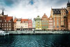 Historic city of Gdansk Stock Photography