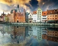 Historic city of Gdansk Stock Photo