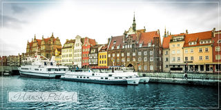 Historic city of Gdansk Stock Images