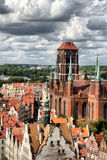 Historic city - Gdańsk Stock Images