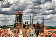 Historic city - Gdańsk Royalty Free Stock Photography