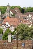 Historic city in germany Royalty Free Stock Photo