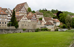 Historic city in germany Royalty Free Stock Images