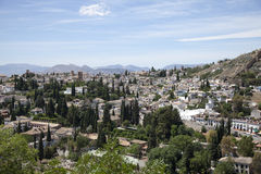 Historic city Granada, Spain, Andalusia Stock Photo