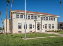 Old city hall, Yuma, Arizona. Historic city hall building, Yuma, Arizona Royalty Free Stock Photo