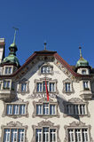 Historic City hall, Einsiedeln, Switzerland Royalty Free Stock Photography
