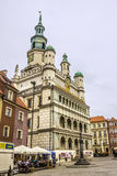 Historic city hall of Poznan Royalty Free Stock Image