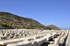 Historic city of Knidos  Royalty Free Stock Image