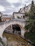 Historic city of Mostar Stock Photo