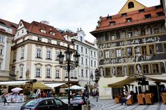 The historic city of Prague Royalty Free Stock Photos