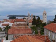 The historic city Rab in Croatia Stock Photo