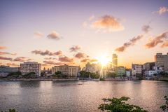 Recife in Pernambuco, Brazil Royalty Free Stock Images