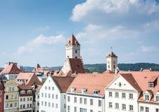 Historic City of Regensburg Royalty Free Stock Photo