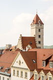 Historic City of Regensburg Royalty Free Stock Photography