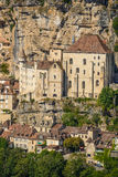 Historic city of Rocamadour, details Stock Images