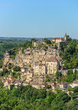 Historic city of Rocamadour Stock Photography
