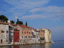 The historic city Rovinj in Istria in Croatia Royalty Free Stock Photo