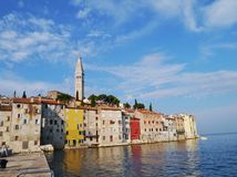 The historic city Rovinj in Istria in Croatia Stock Photography
