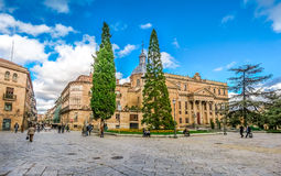 Historic City of Salamanca, Castilla y Leon region, Spain Royalty Free Stock Images
