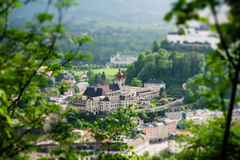 Historic city of Salzburg Royalty Free Stock Photography