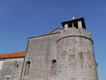 The historic city Stari Grad on the island Hvar Royalty Free Stock Images