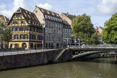 Historic city of Strasbourg - Alsace - France Royalty Free Stock Photography