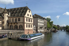 Historic city of Strasbourg - Alsace - France Stock Photography
