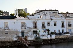 The historic city of Tavira Royalty Free Stock Images