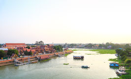 Historic City in Thailand Stock Image