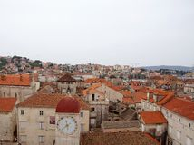The historic city Trogir in Croatia Stock Images