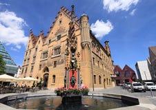 Historic city of Ulm Stock Photos