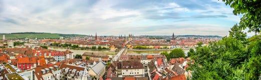 Historic city of Wurzburg, Franconia, Bavaria, Germany Royalty Free Stock Photo