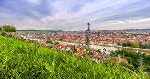 Historic city of Wurzburg, Franconia, Bavaria, Germany Royalty Free Stock Image