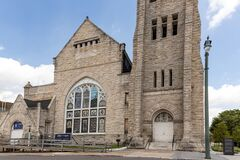 Free Historic Clayborn Temple Front Memphis TN Royalty Free Stock Photos - 181536588