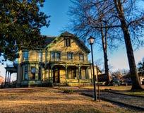 Historic Clayton House in Fort Smith, Arkansas stock photo