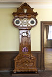Historic clock in the Goethe museum Royalty Free Stock Photography