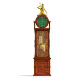 Historic clock of louis xv. Royalty Free Stock Photography