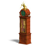Historic clock of louis xv. Stock Photography