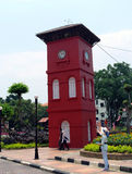Historic Clock Tower in Melaka Royalty Free Stock Images