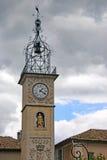 Clock Tower, Sisteron Stock Image
