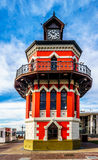 The historic clock tower at Victoria and Alfred Waterfront in Cape Town Royalty Free Stock Photos