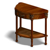 Historic coffee table of louis XV. Royalty Free Stock Photo