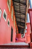 Lonely. The historic colonial architecture, Melaka stock images