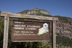 Historic Colorado Royalty Free Stock Image