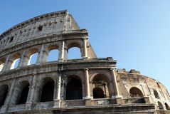 Historic Colosseum in Italy Royalty Free Stock Photos