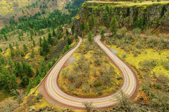 Historic Columbia River HWY, Or royalty free stock image
